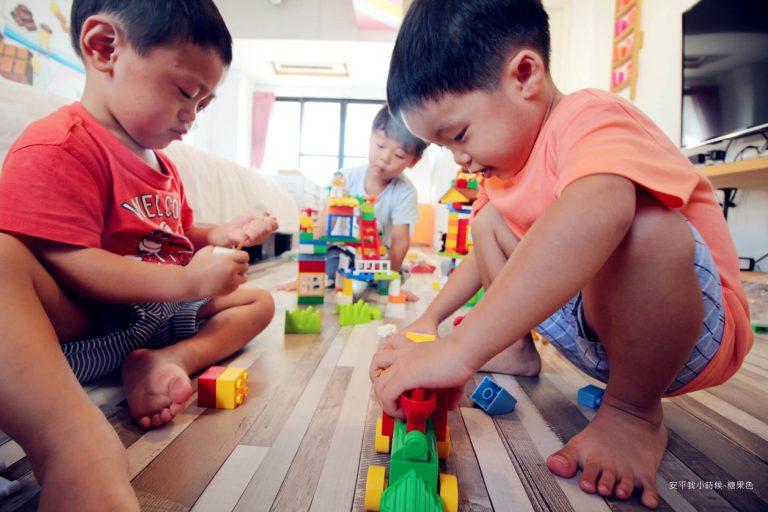積木讓孩子發揮天馬行空的創意