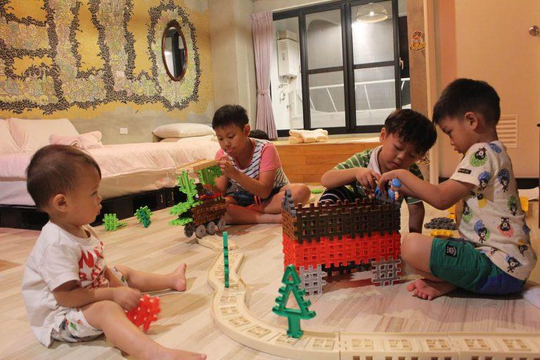 台南親子住宿我小時候提供親子遊具外借