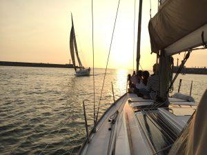 台南帆船超激體驗-我小時候獨家試乘