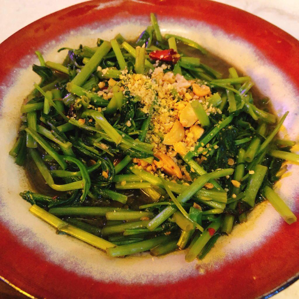 后院蝦醬高麗菜