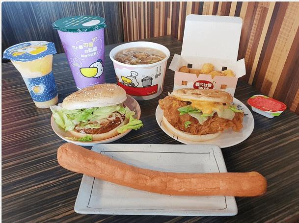 安平丹丹漢堡新店面