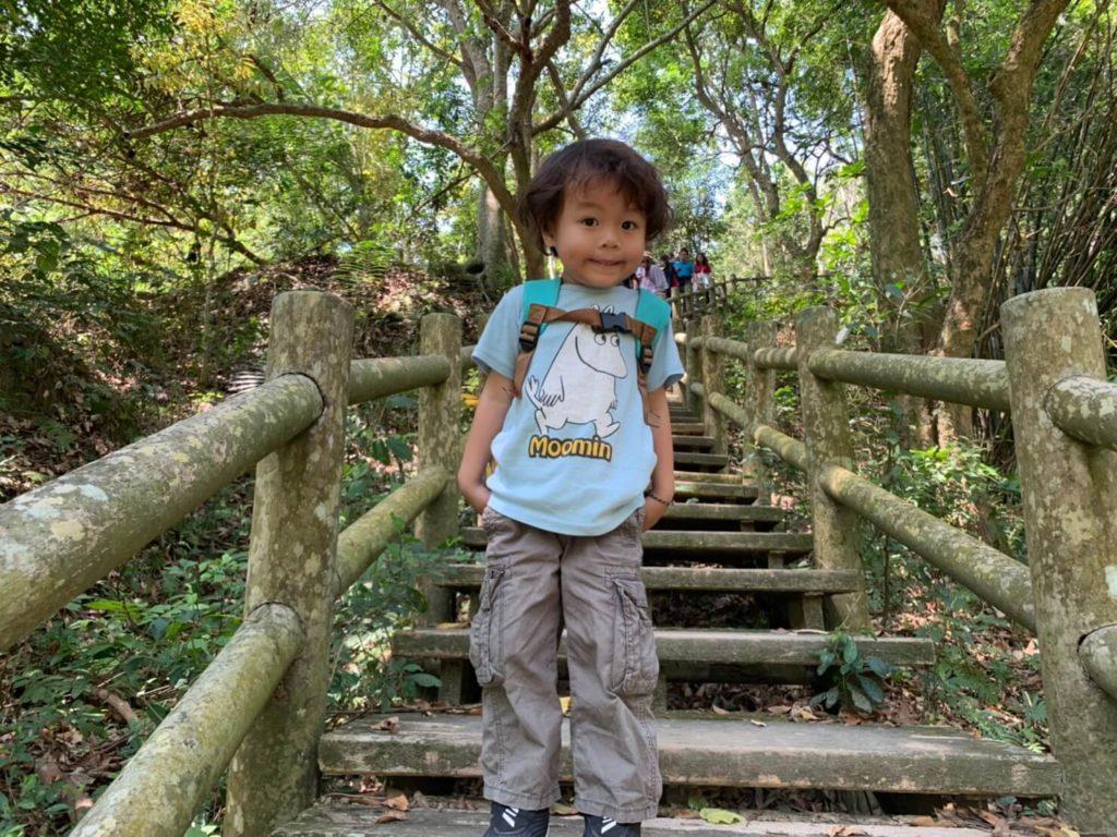 台南新化林場開心特寫