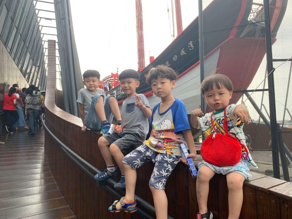 台灣船園區兒童照