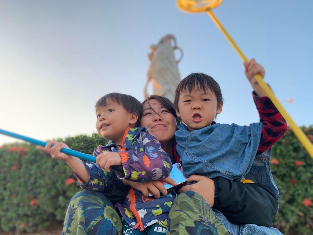 林默娘公園家庭照