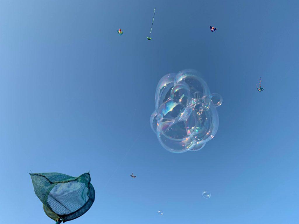 林默娘公園泡泡捕捉