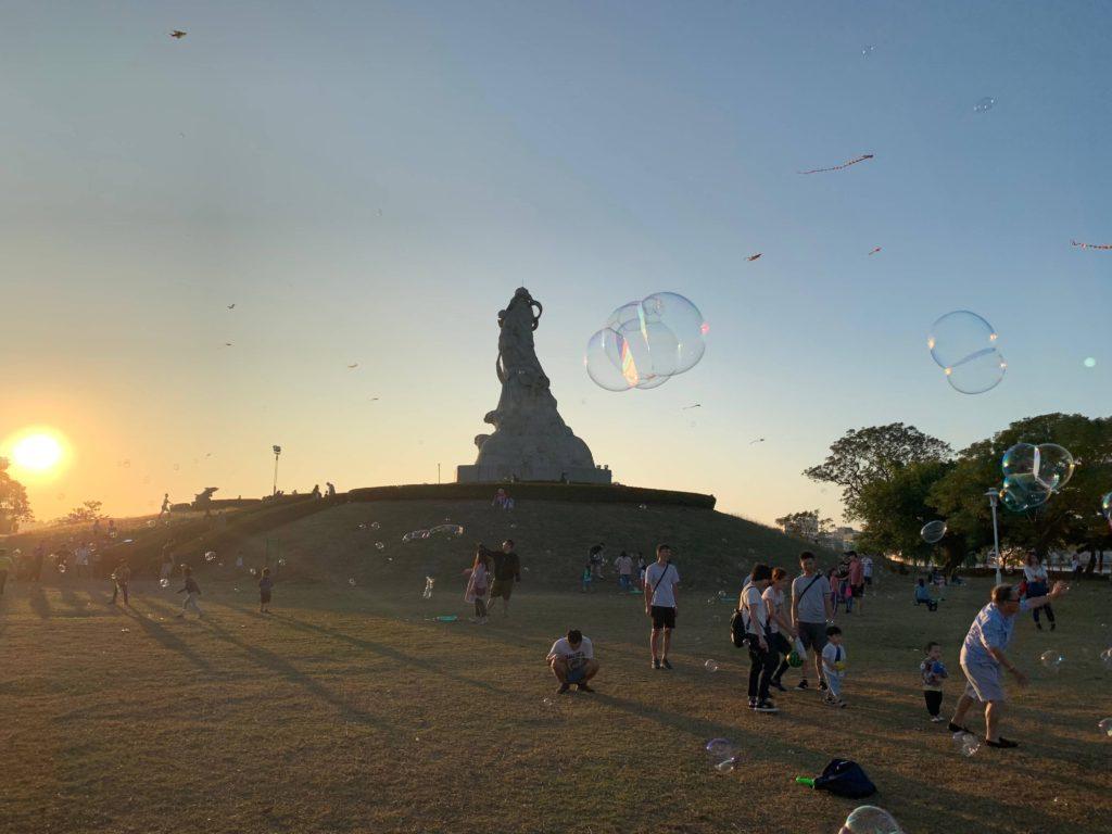 林默娘公園泡泡