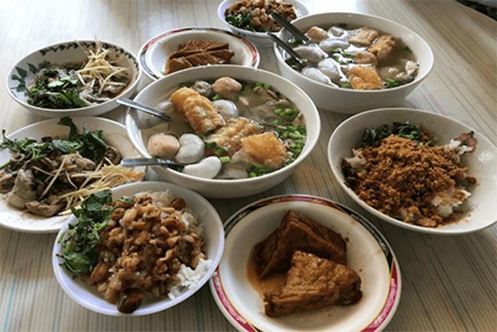 第三代虱目魚湯菜色