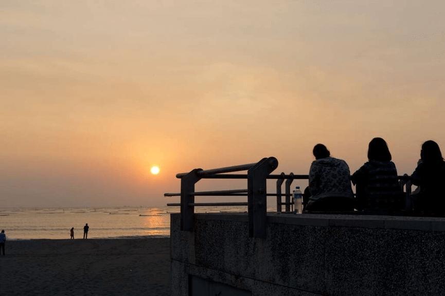 觀夕平台夕陽美景