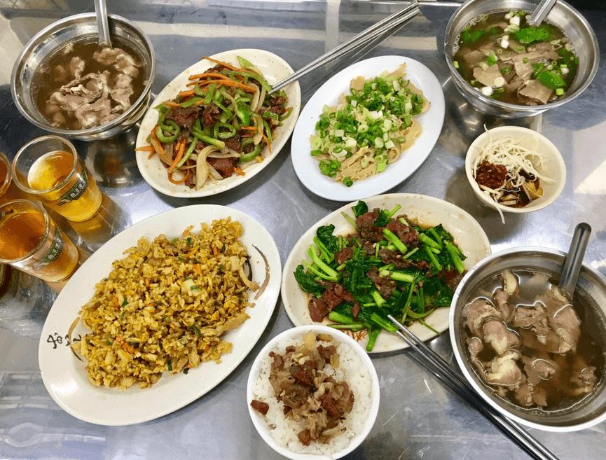 阿財牛肉湯好吃菜色